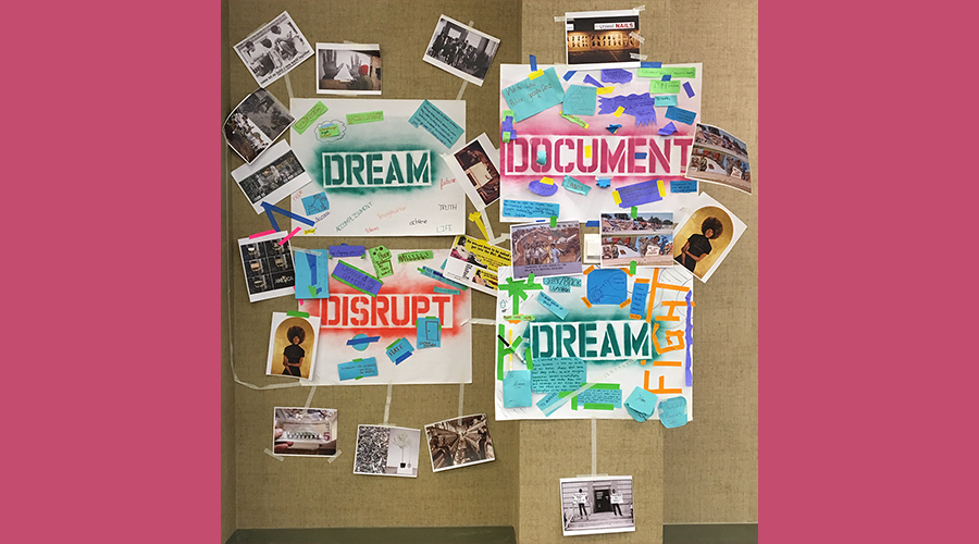 Document, Dream, Disrupt
