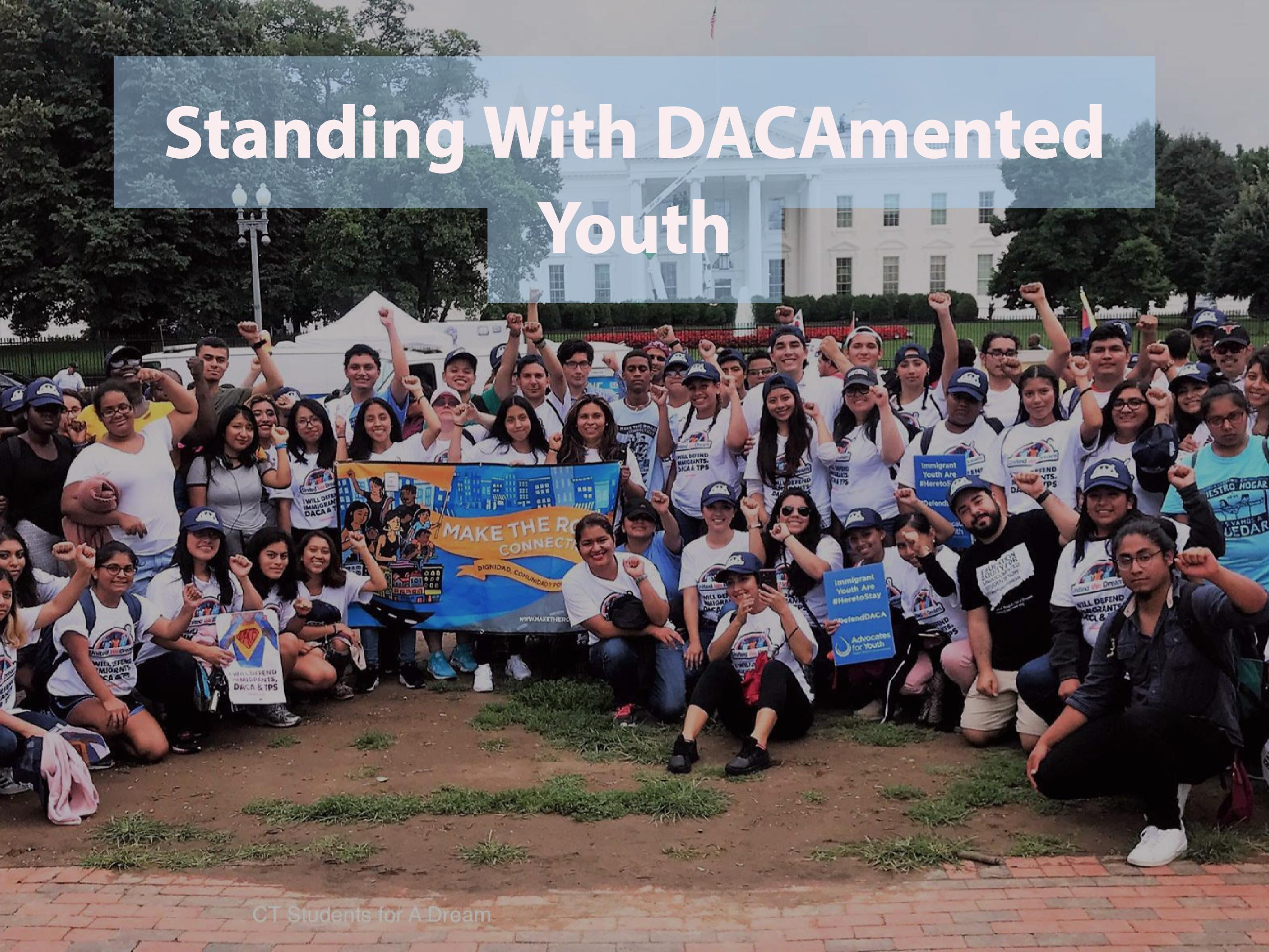 Standing with DACAmented Youth