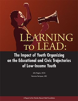 Learning to Lead: The Impact of Youth Organizing on the Educational and Civic Trajectories of Low-Income Youth
