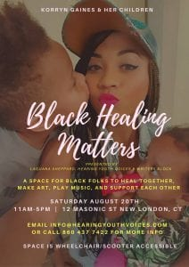 Writer's Block:HYV Black Healing Matters