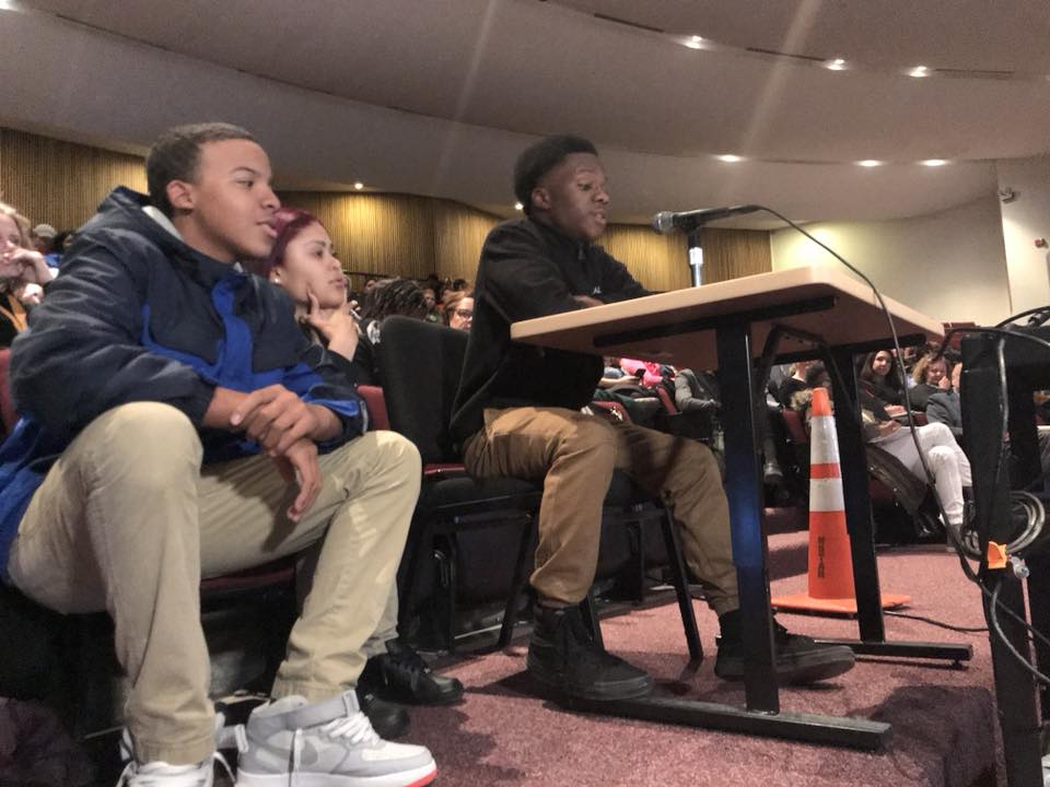 Youth Engage Board of Education Officials, Prior to Election and Beyond