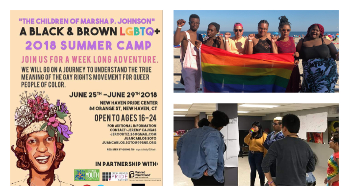 "Guest Blogger: Jeremy, Citywide Youth Coalition –  ""The Children of Marsha P. Johnson Summer Camp"""